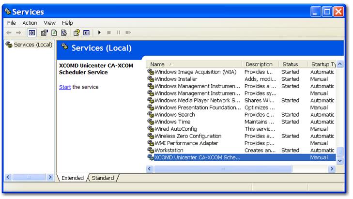XCOM file transfer - XCOM file transfer